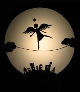 tanzender engel karte